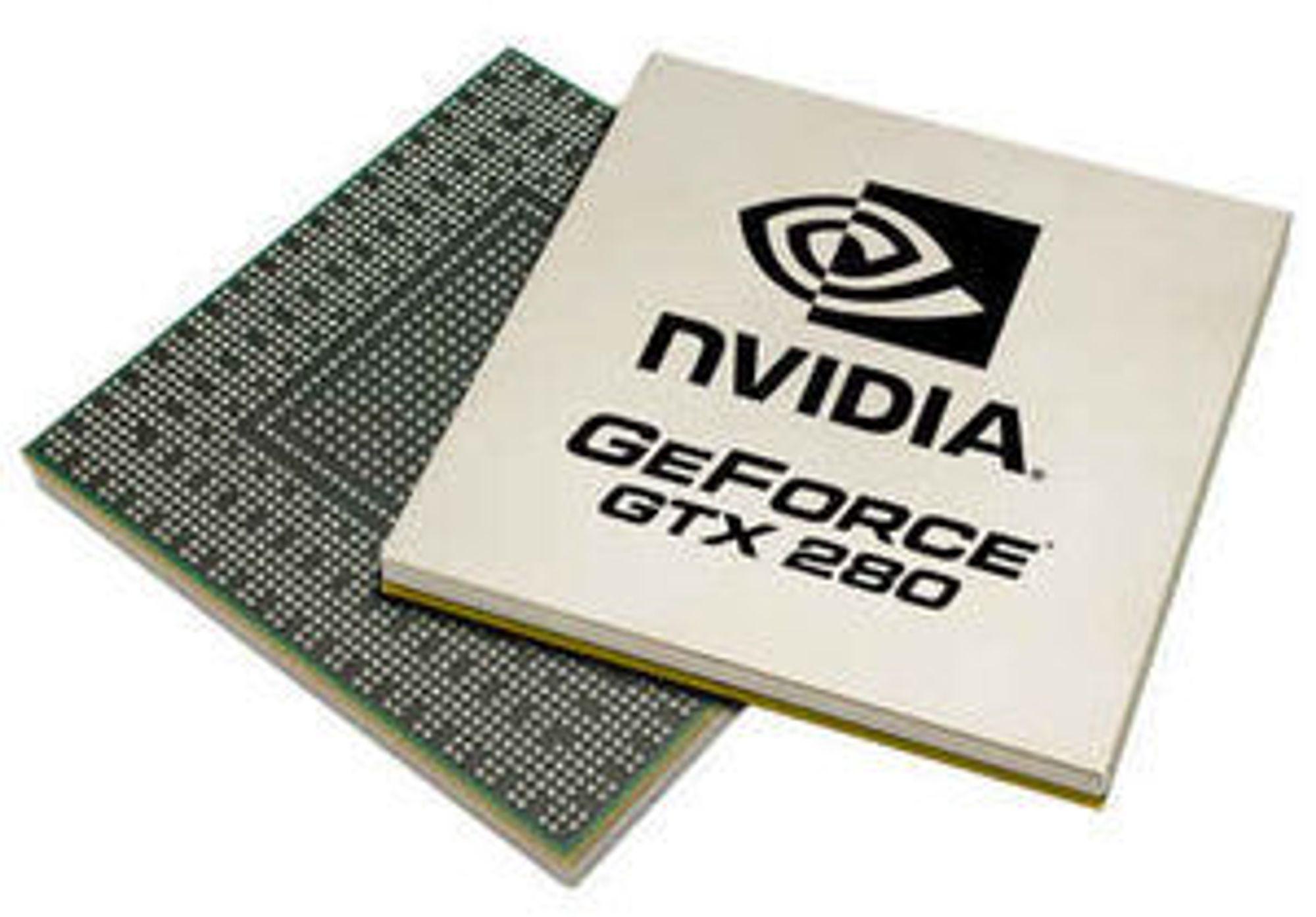 Nvidia GeForce GTX 280-brikke