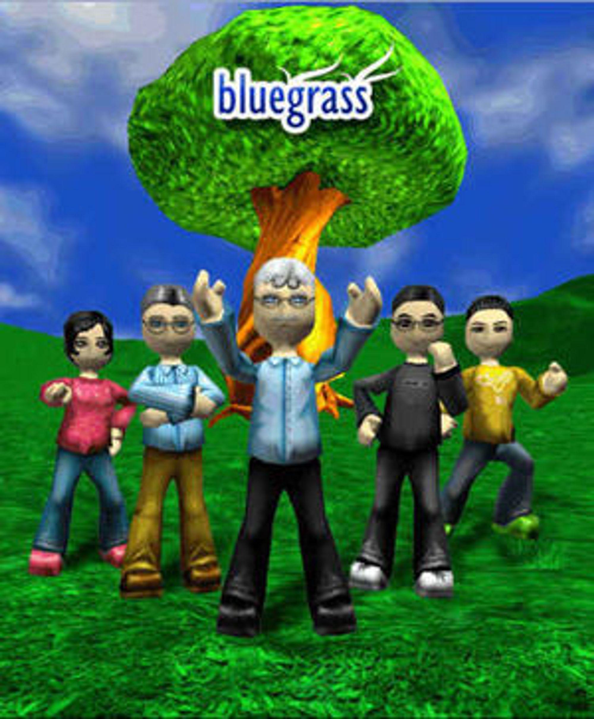 Bluegrass er et prosjekt for å kartlegge hvordan virtuelle verdener kan bedre samarbeidet mellom geografisk atskilte profesjonelle.