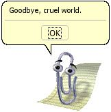 Microsoft Office' «Clippy» har takket for seg.