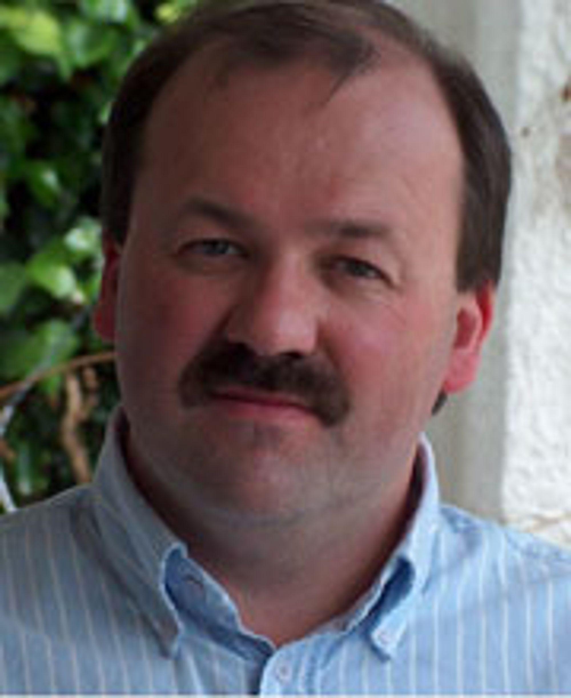 Frank Stien, leder for Telenors sikkerhetssenter i Arendal.