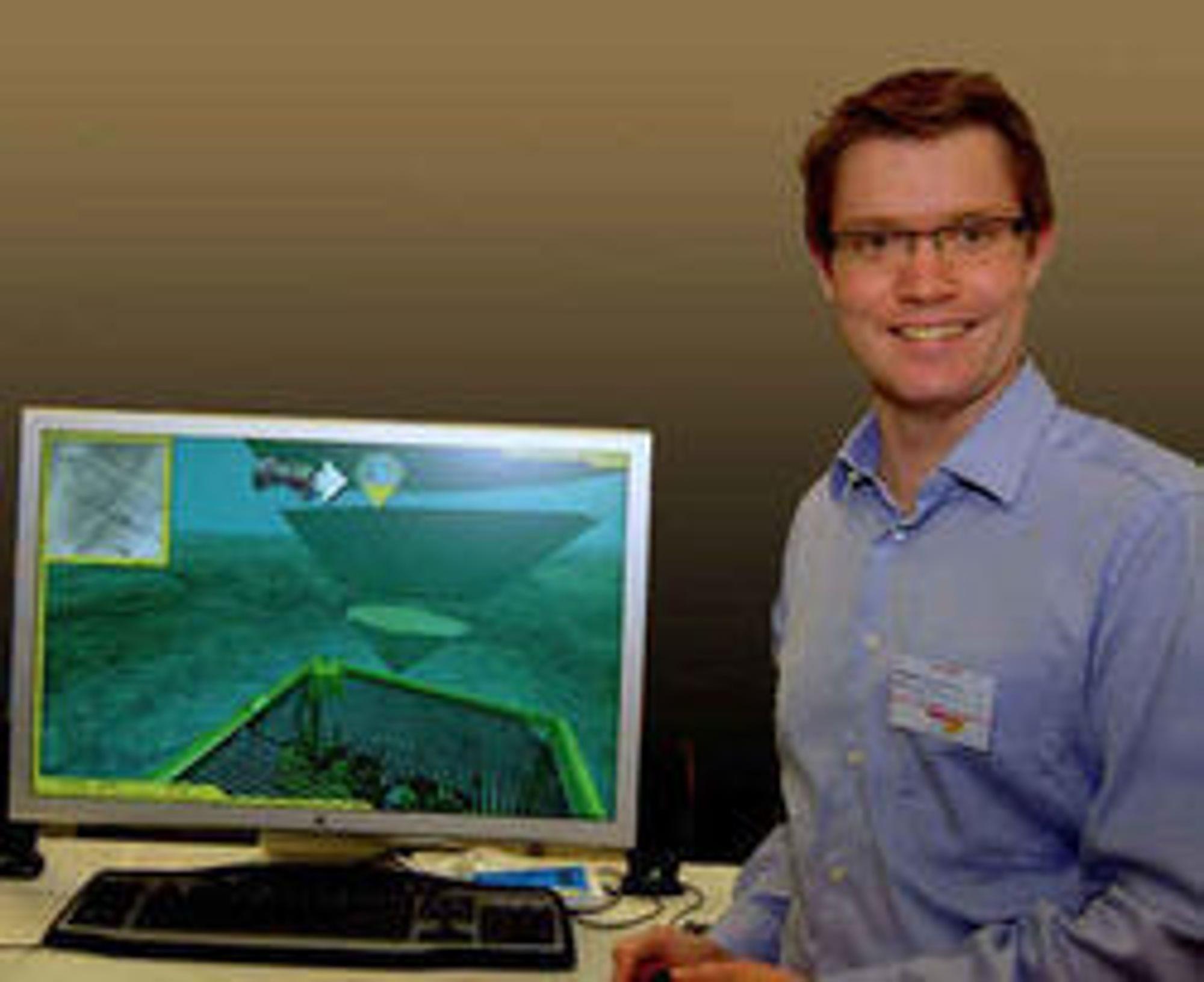 Erik Hargog Terravision er en av de norske aktørene som satser på å lage spill til iPhone.