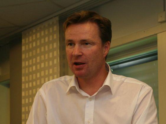 Administrerende direktør Per Hove i Oracle Norge