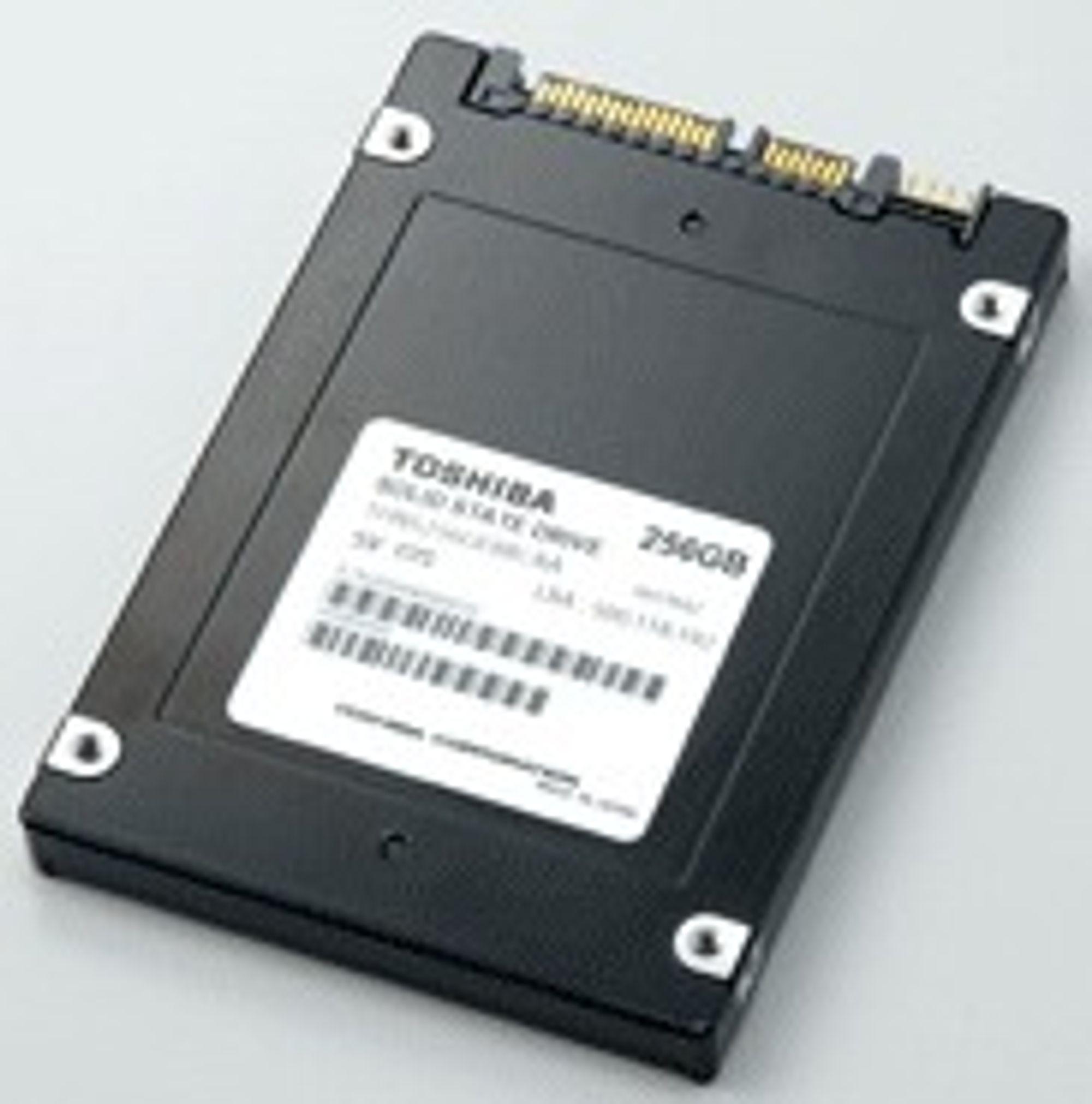 256 GB SSD fra Toshiba