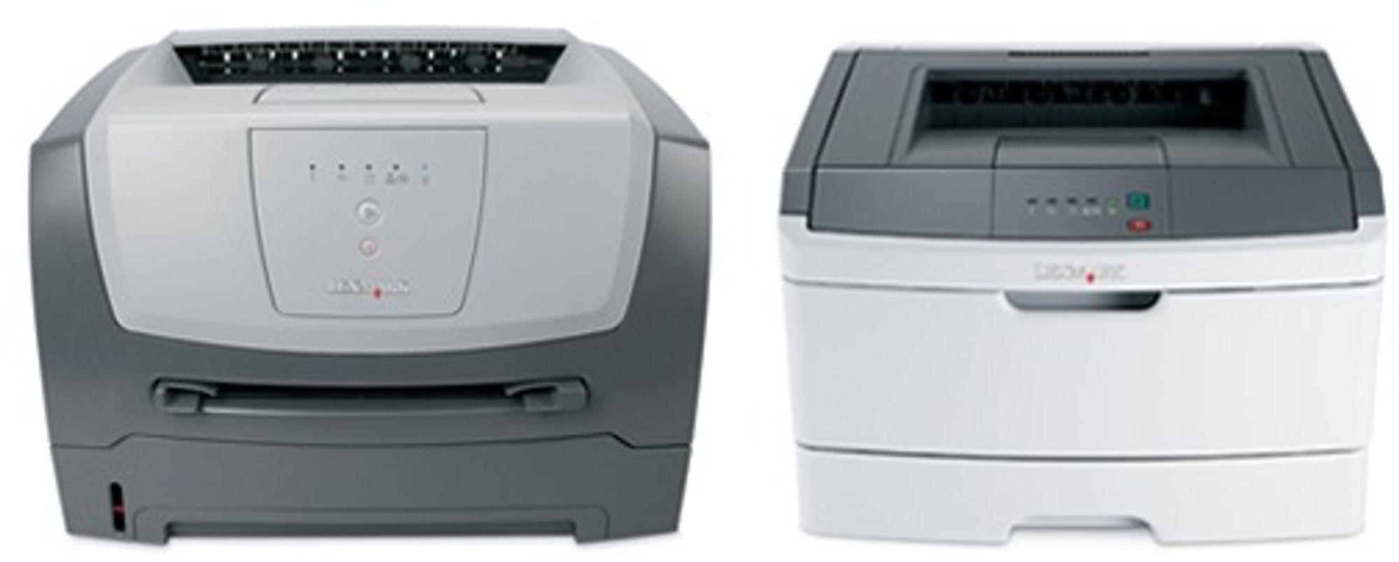 Gammel og ny design. E250d (til venstre) erstattes av E260d.