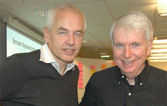 Tor Arne Viksjø i Dips og Jeff Sutherland