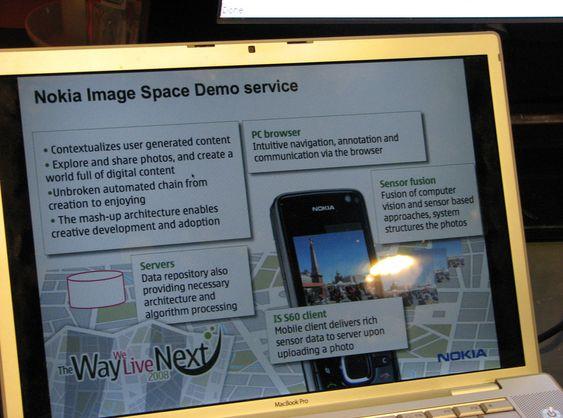 Slik presenterer Nokia den potensielle tjenesten.
