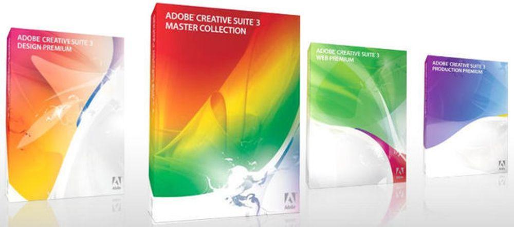 Adobe med seks nye Creative Suite-pakker