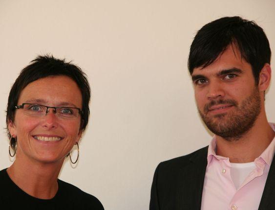 Heidi Grande Røys får god støtte på IT og teknologi fra sin politiske rådgiver, Jørund Leknes.