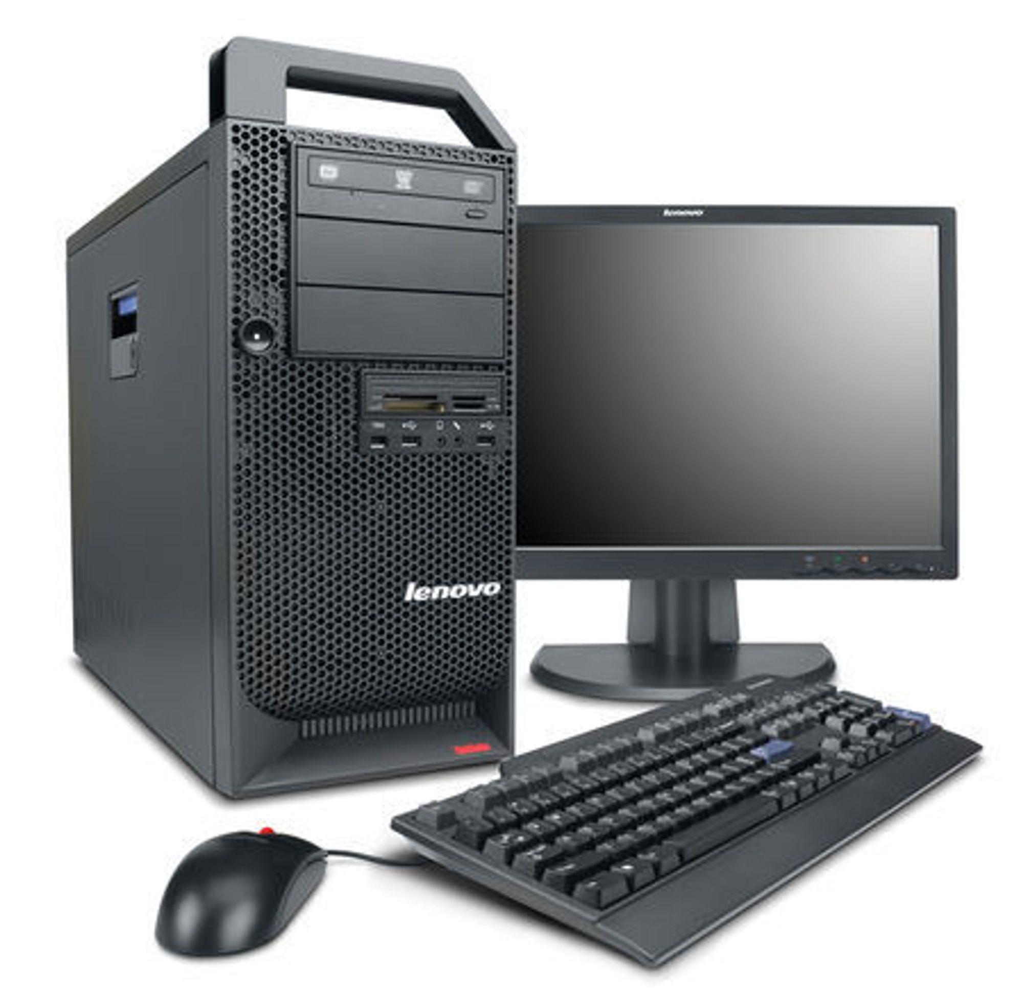 Lenovo ThinkStation D10 har avansert grafikk og Xeon-prosessor.