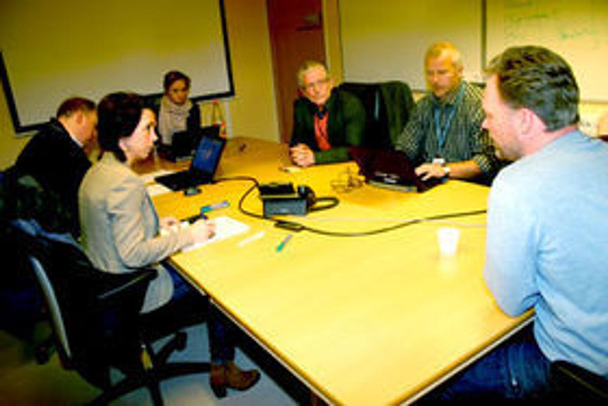 Det ble full krise i fjor vår da Altinn klappet sammen for andre år på rad. Bildet er fra krisemøte i Brønnøysundregistrene som drifter den sentrale tjenesten. Om dette skjer en gang til vil det kunne skade digitaliserings-strategien til offentlig sektor.