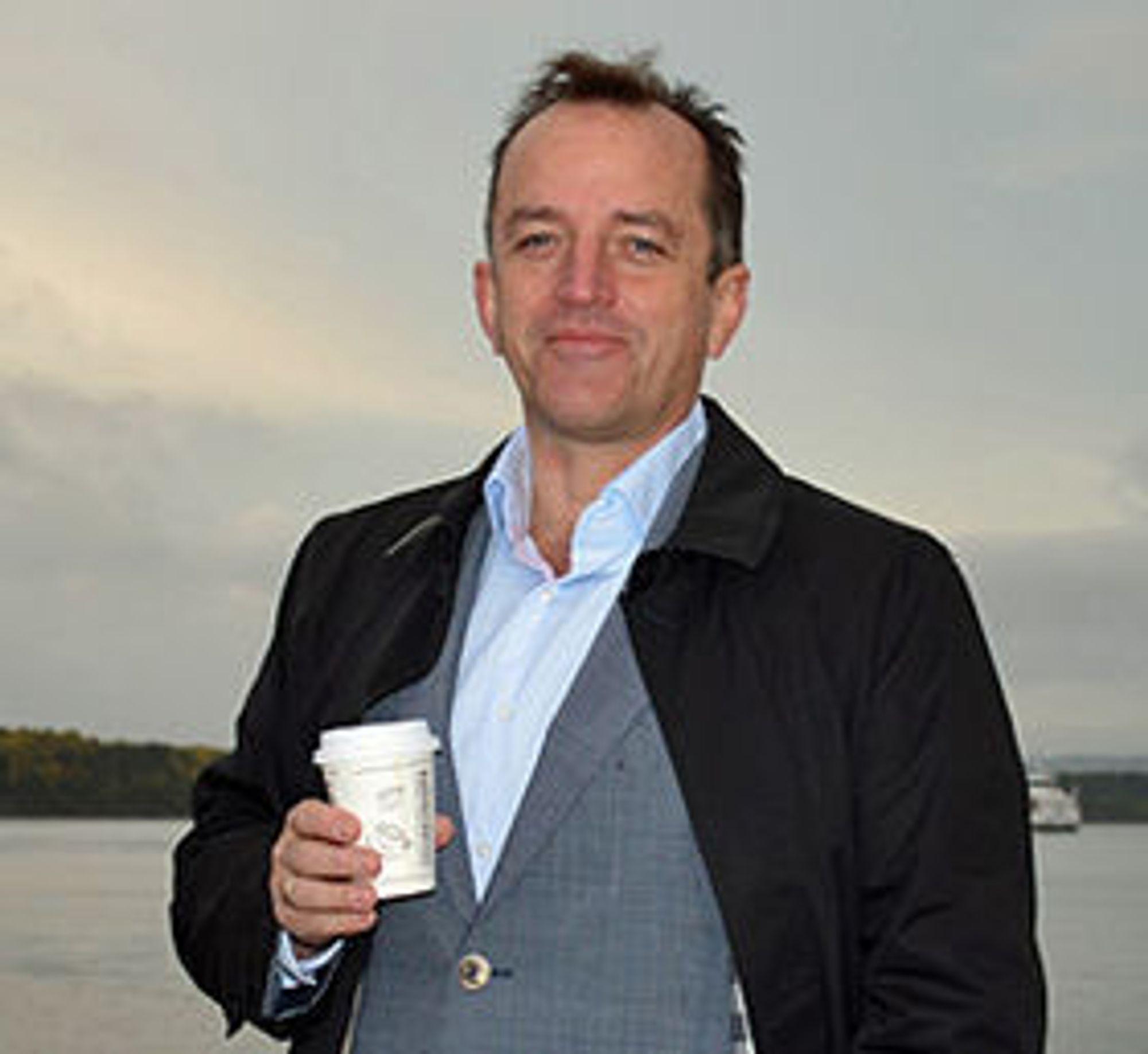 Odd Erling Håberget er leder i BankID Norge.