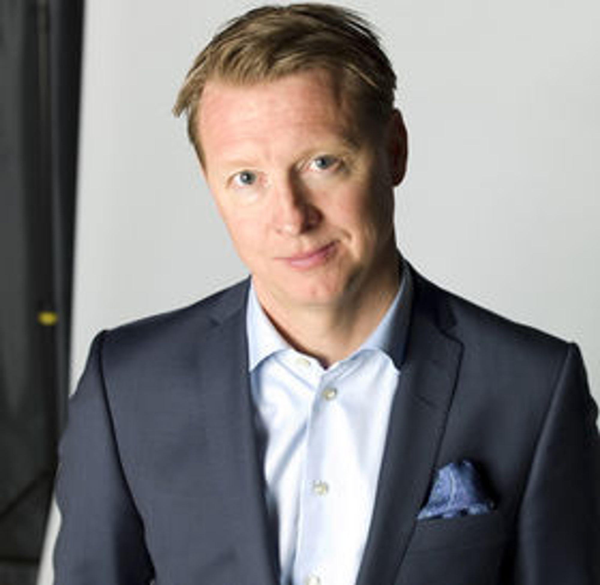 Konsernsjef i Ericsson, Hans Vestberg.