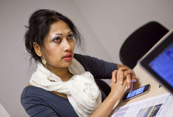 Forretningsutvikler Saera Khan i Taxistation håper at norske taxisentraler vil kaste seg på selskapets patenterte løsning.