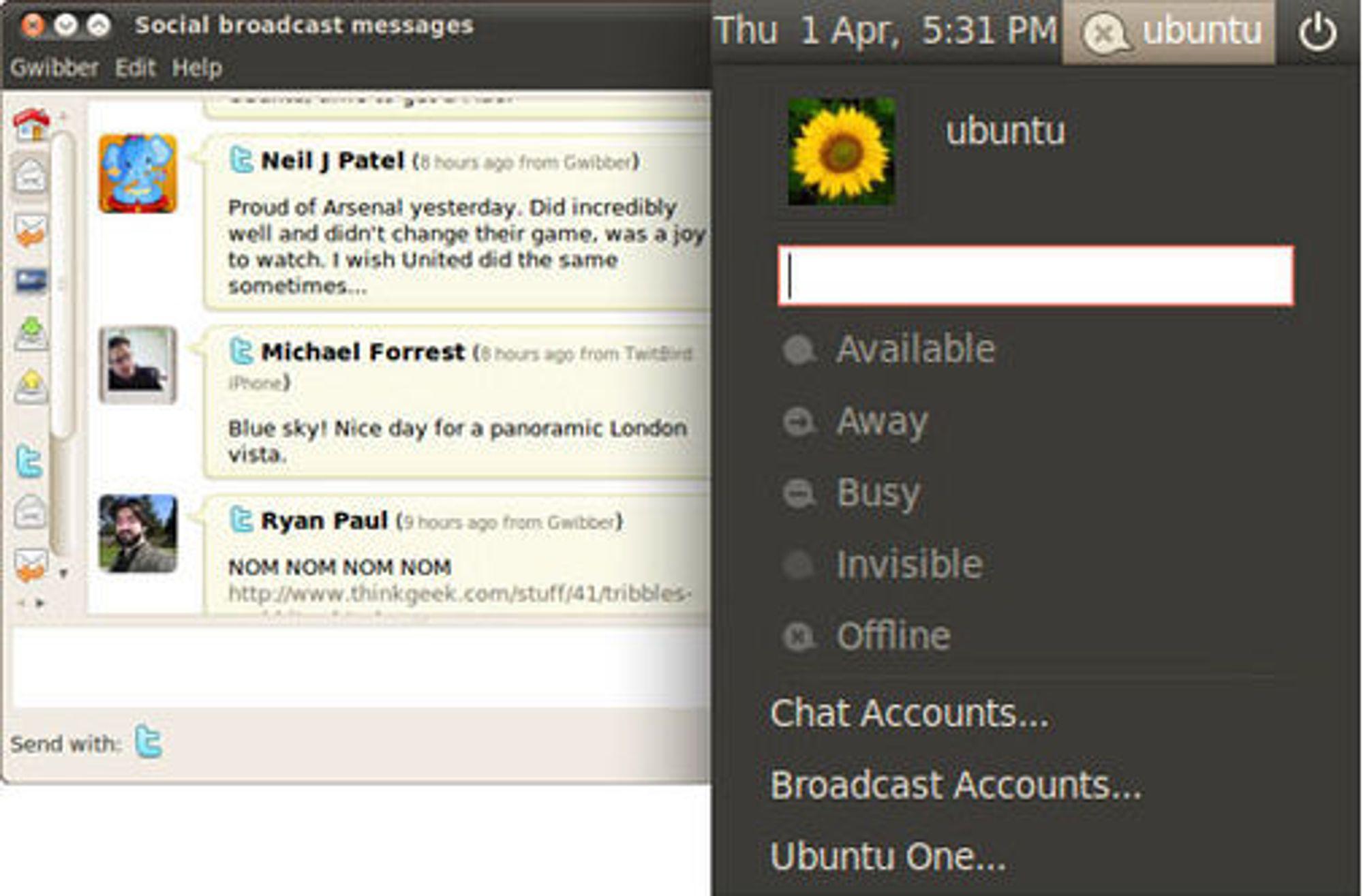 Ubuntu Me Menu