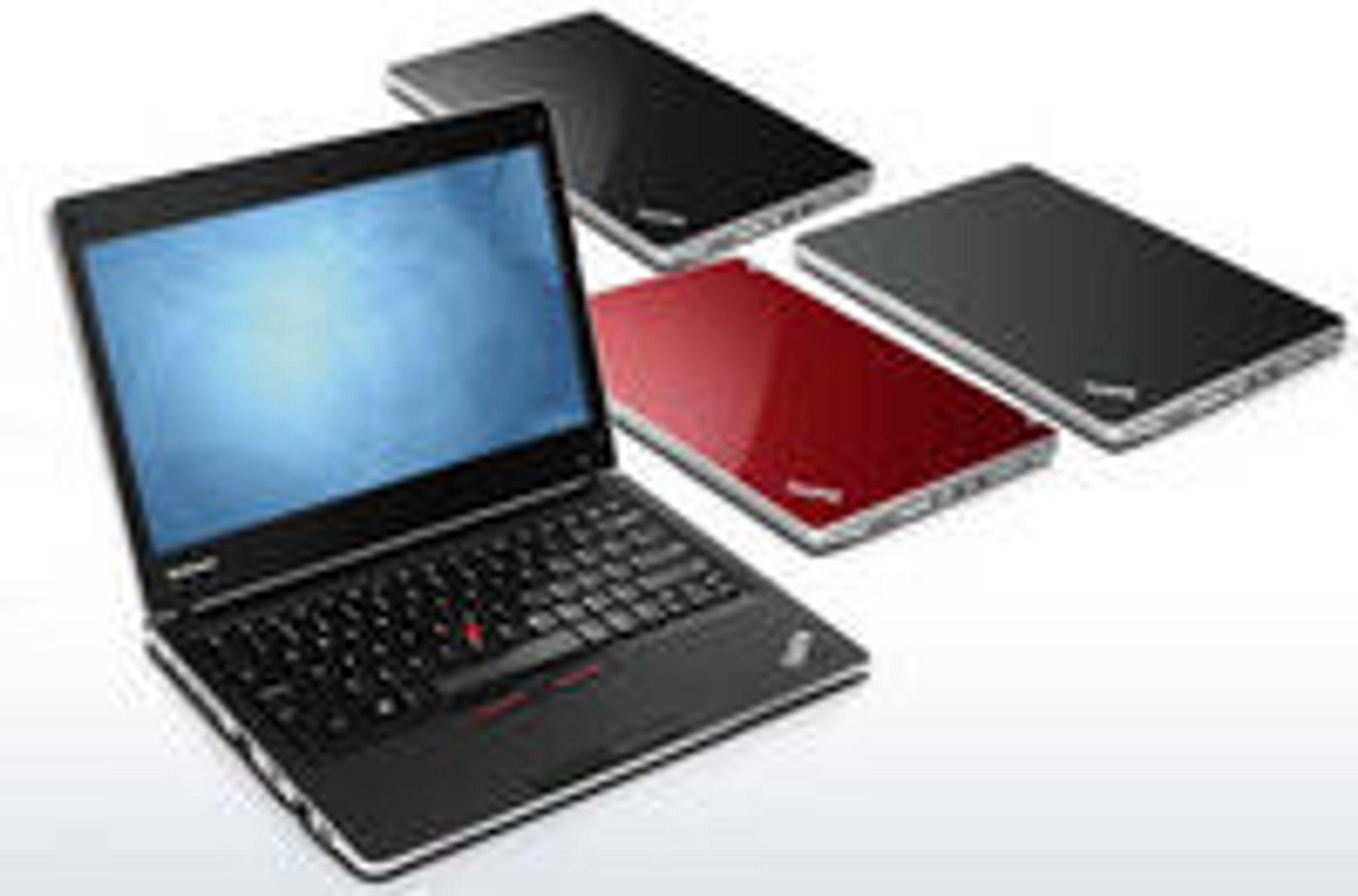 I Norge er Lenovos bærbare Thinkpad de mest aktuelle modellene.