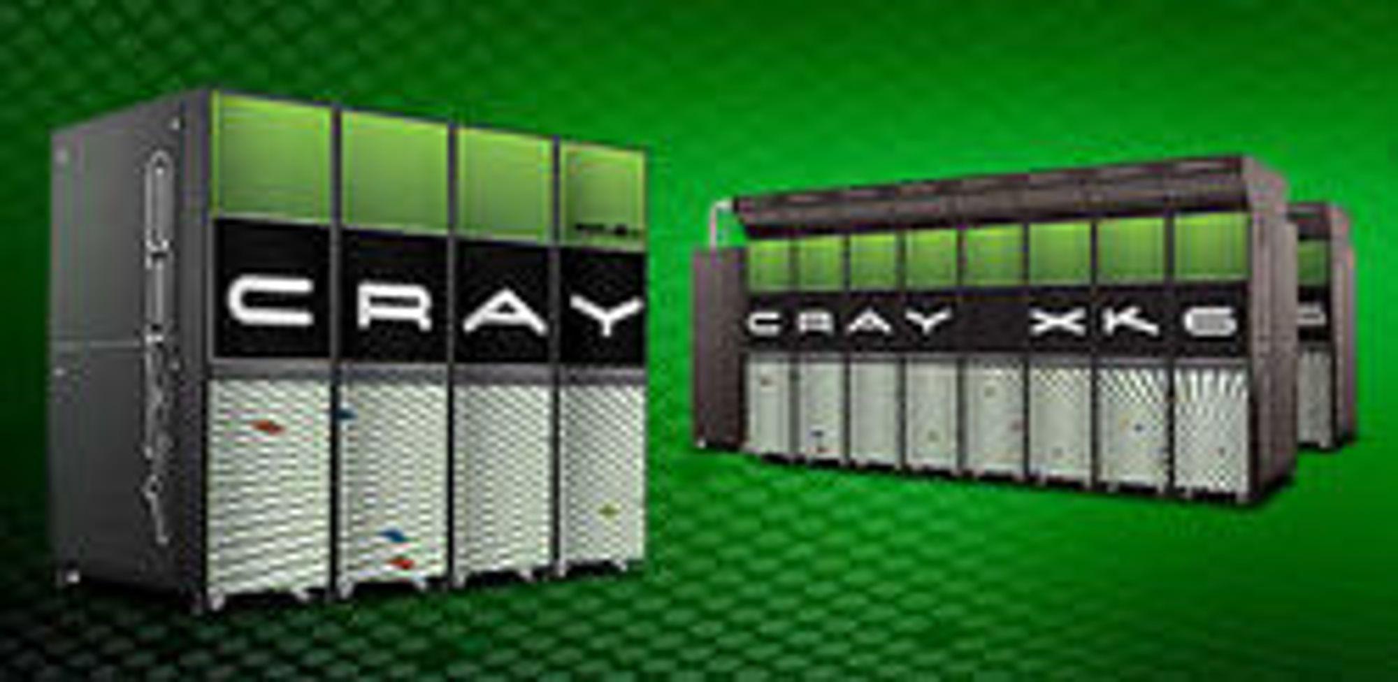 Titan vil bestå av en mengde Cray XK6-noder.