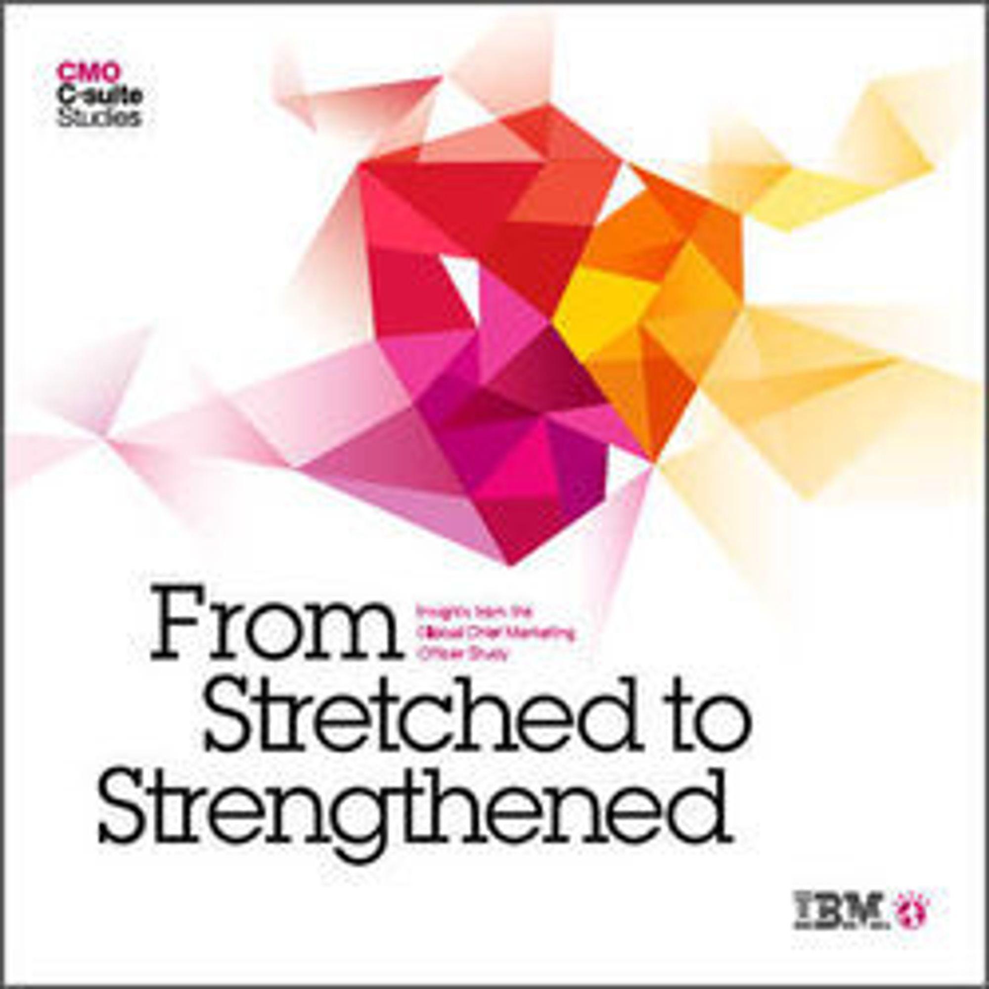 Global CMO Study kan lastes ned fra IBMs nettsted.