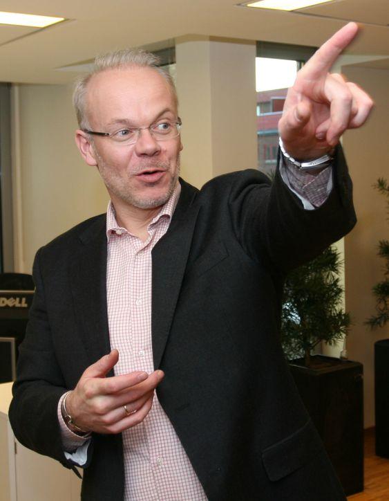 Svindlere også i Norge: En håndfull aktører prøver å sette søkebransjen i vanry, mener Jan Grønbech i Google.