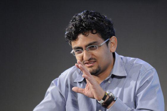 Googles egyptiske opprørshelt, Wael Ghonim.