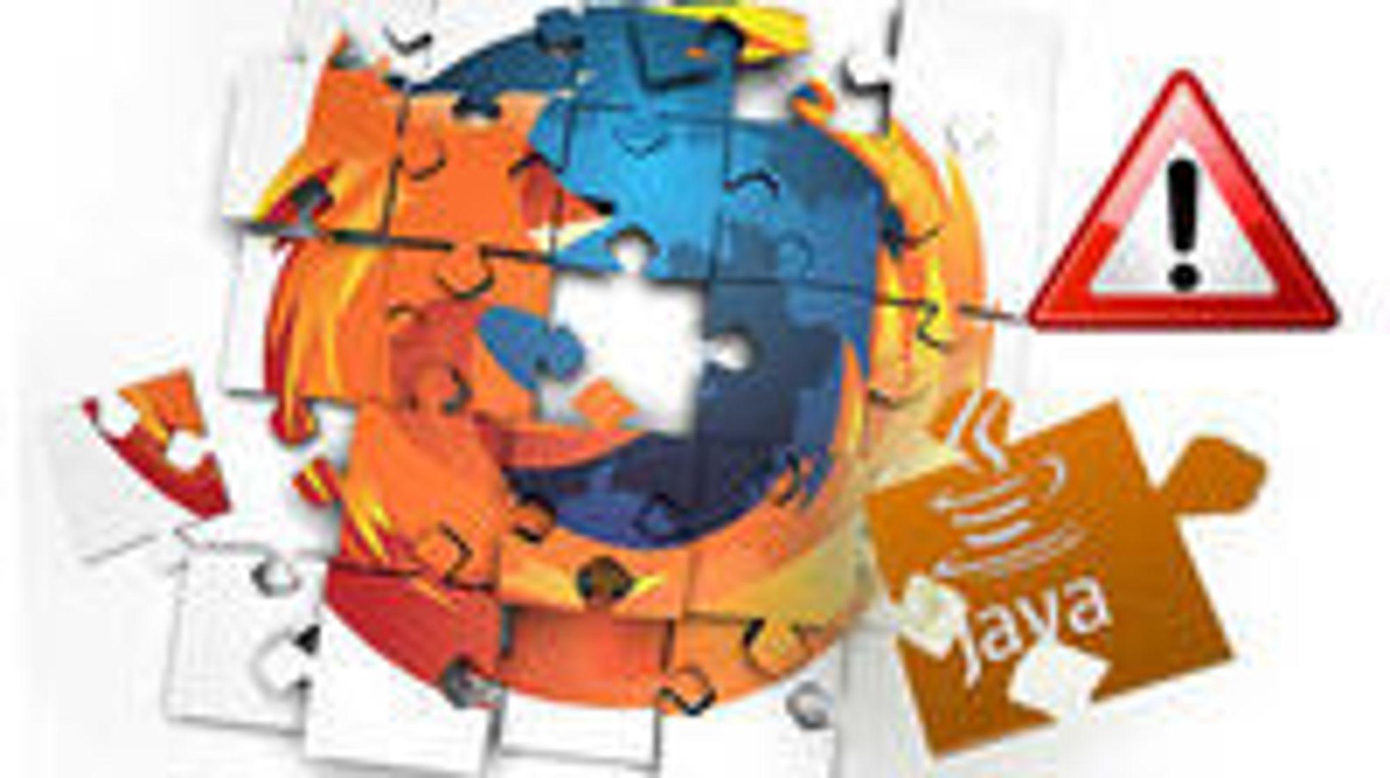 Firefox vurderer å svarteliste Java.