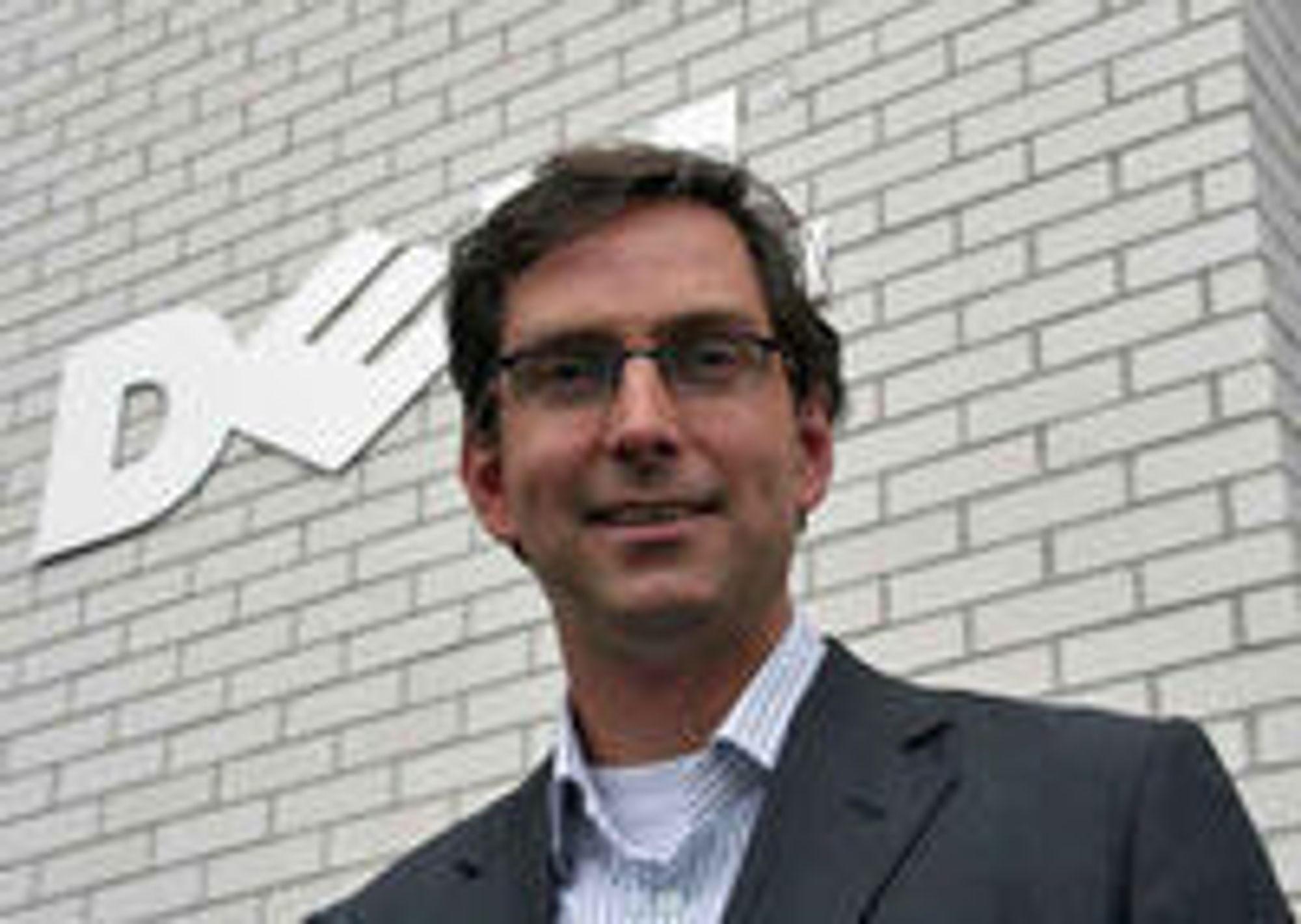 Direktør Michael Jacobs i Dell Norge.