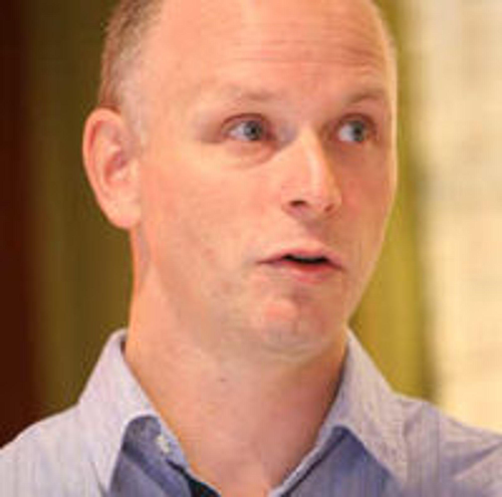 Fredrik Gørrissen, direktør for telekom og mobil i Microsoft Norge.