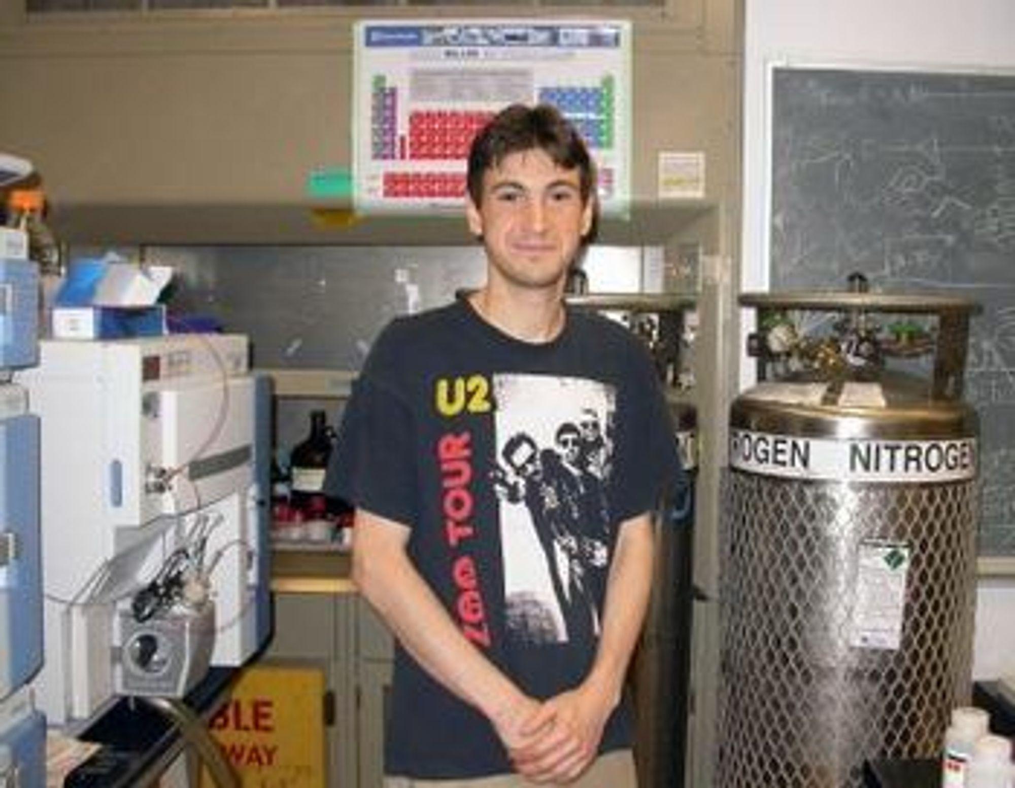 Firas Khatib ved University of Washington Department of Biochemistry i Seattle ledet studien hvor dataspillere via nettet løste det AIDS-relaterte enzymproblemet.