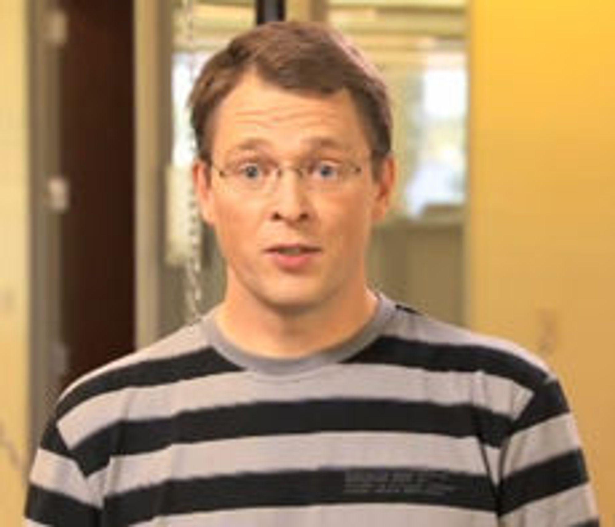 Lars Bak i Google Danmark, her fra en video som ble lagt ut på YouTube i 2008.