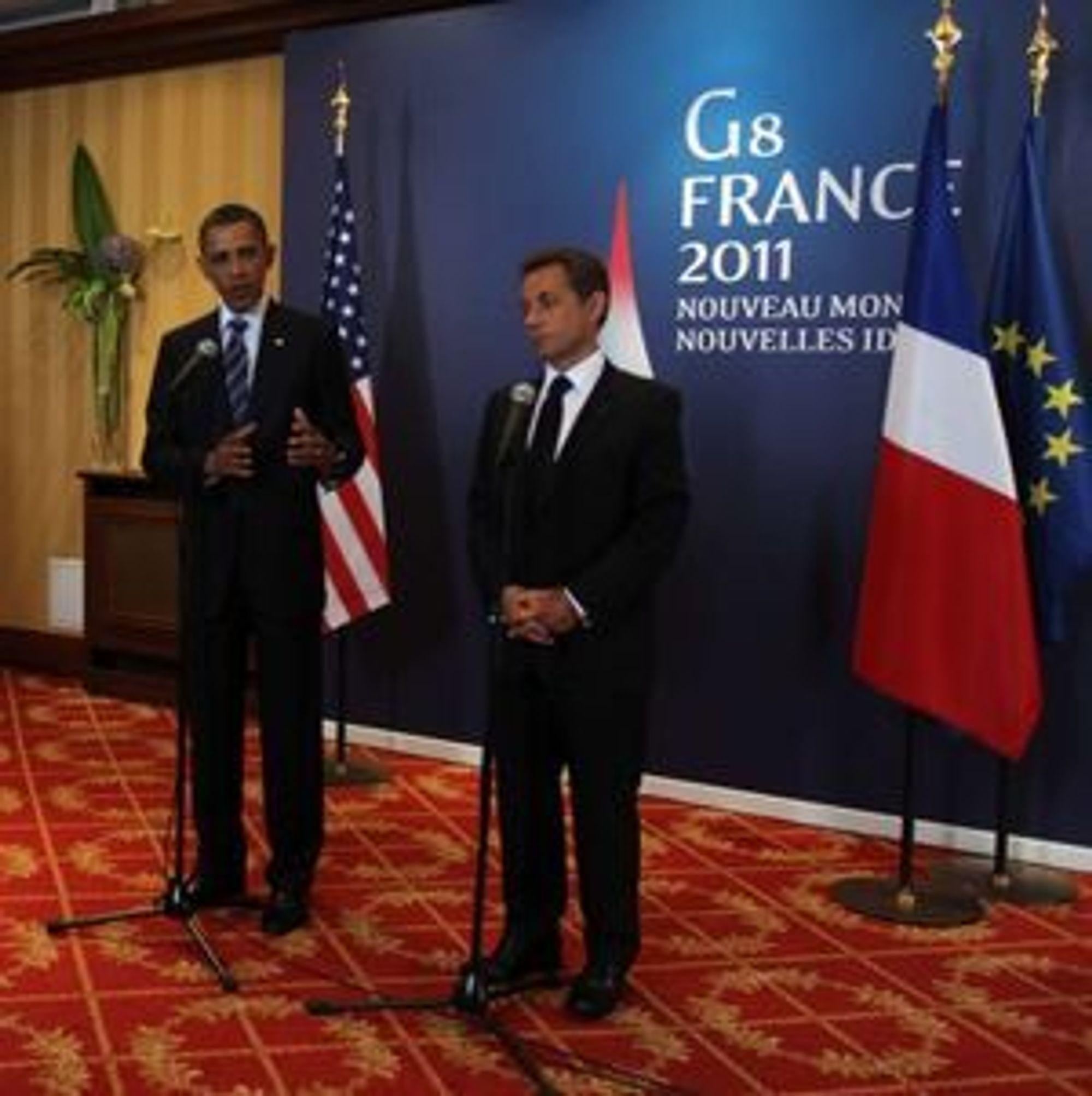 For første gang i historien, var Internett et punkt på dagsorden til et toppmøte i G8-landene.