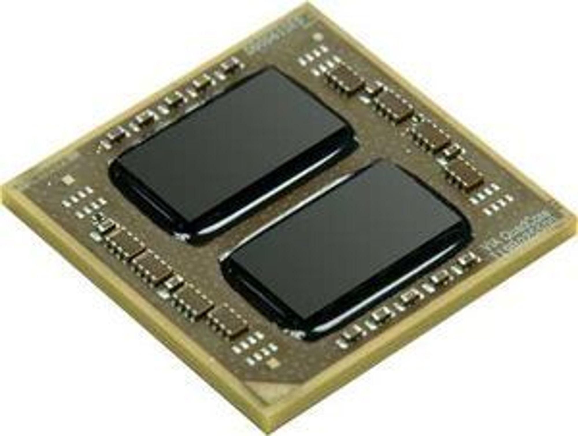 VIA QuadCore består av to  silisiumbrikker som er satte sammen på et kretskort. Til sammen tilbyr brikkene fire prosessorkjerner.