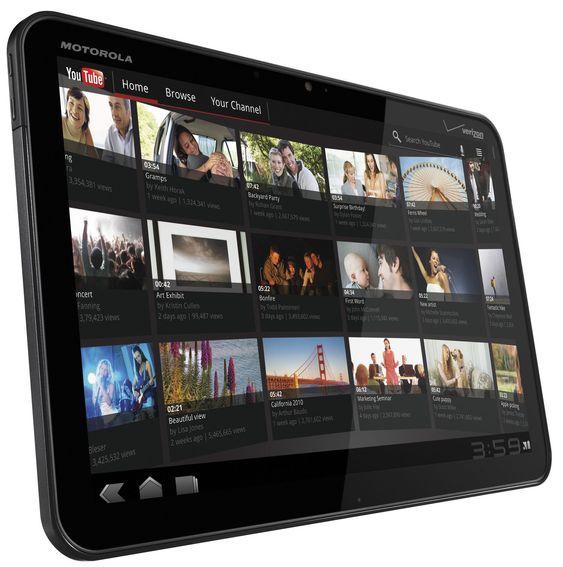 Ifølge Motorola Mobility ble det solgt 250 000 eksemplarer av nettbrettet Xoom i perioden februar til april i år.