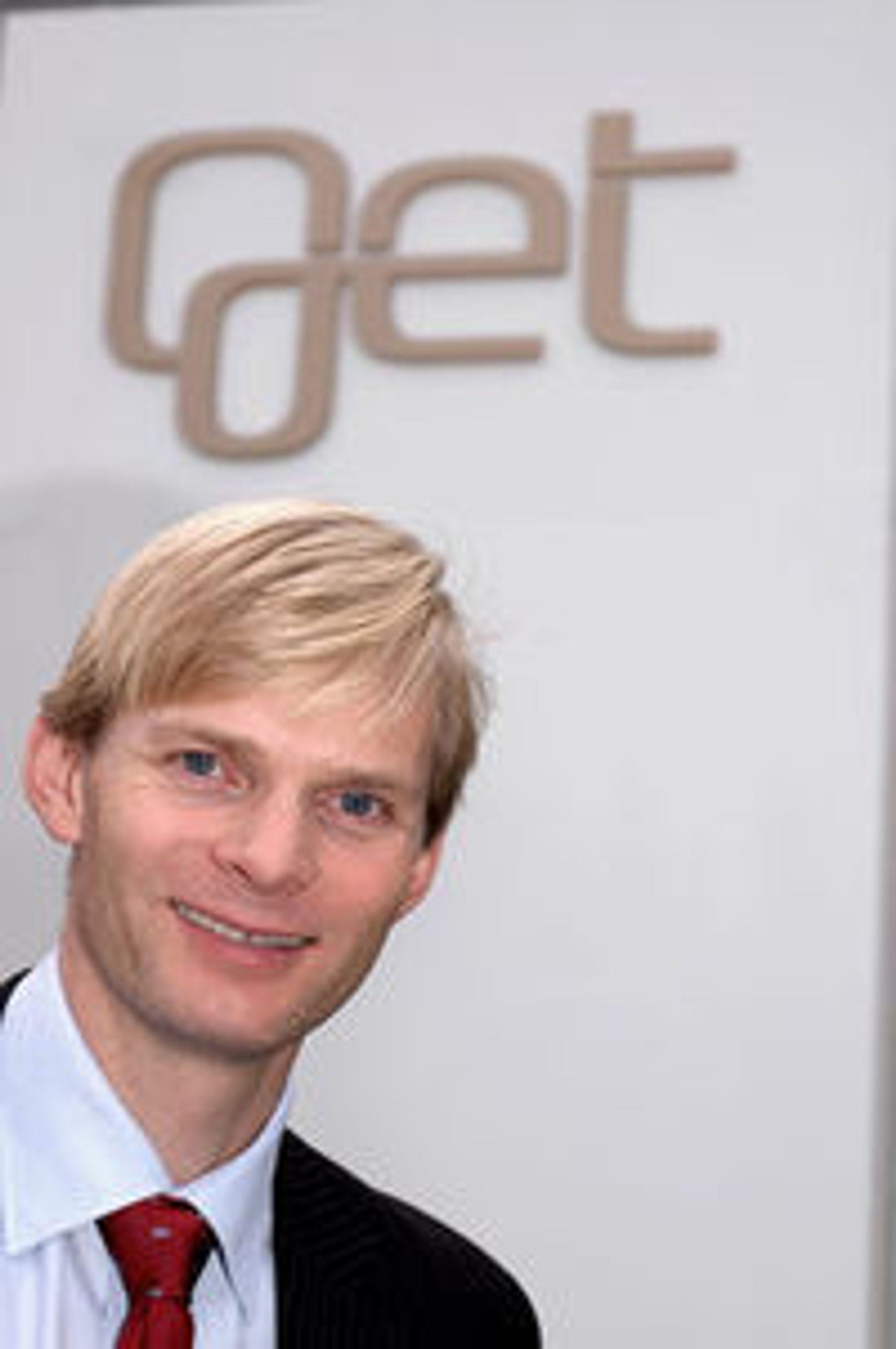 Øyvind Husby er direktør for samfunnskontakt i Get.