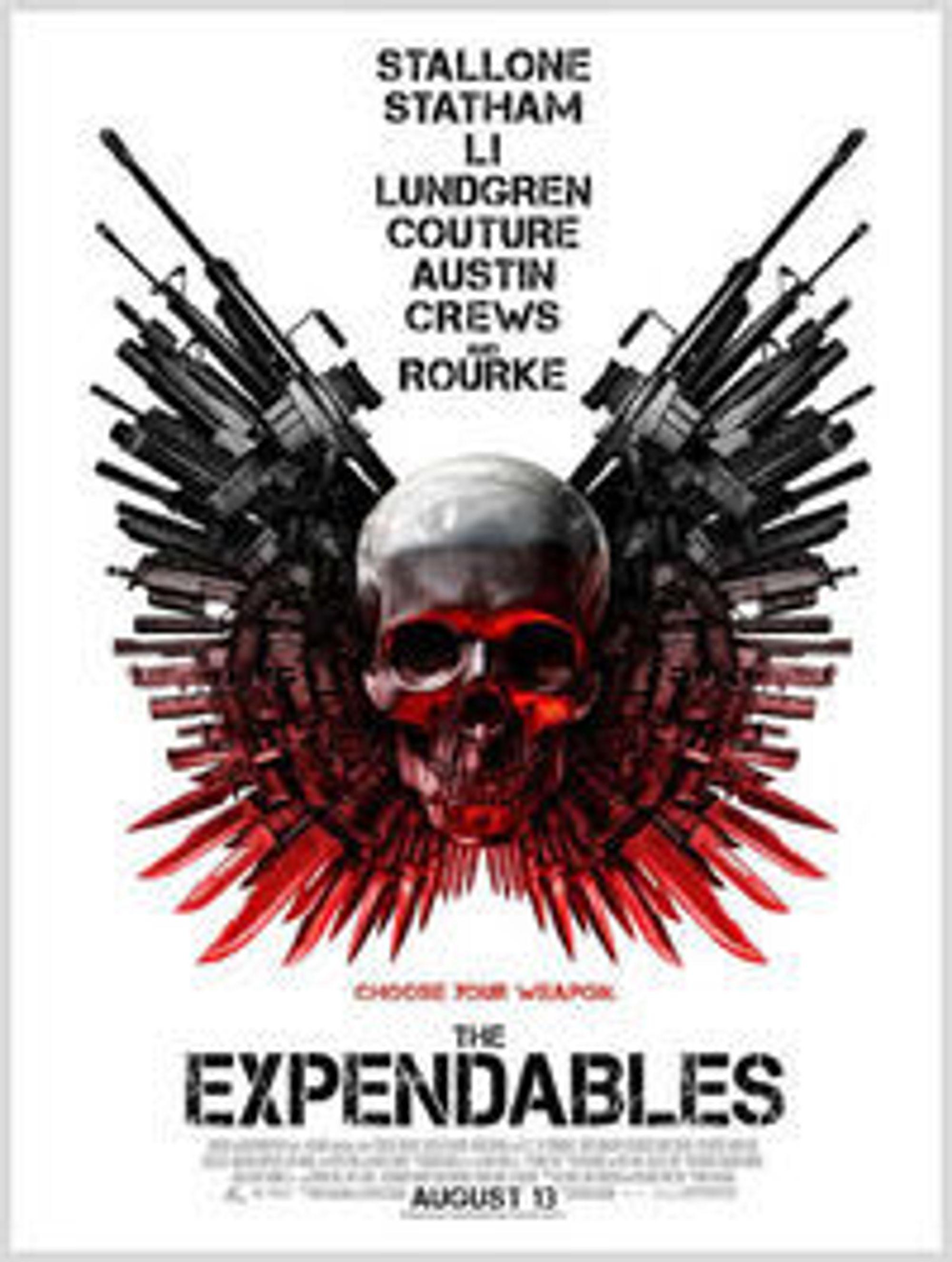 Piratjegere ønsker å straffe de mange som lastet ned Sylvester Stallone-filmen The Expendables.