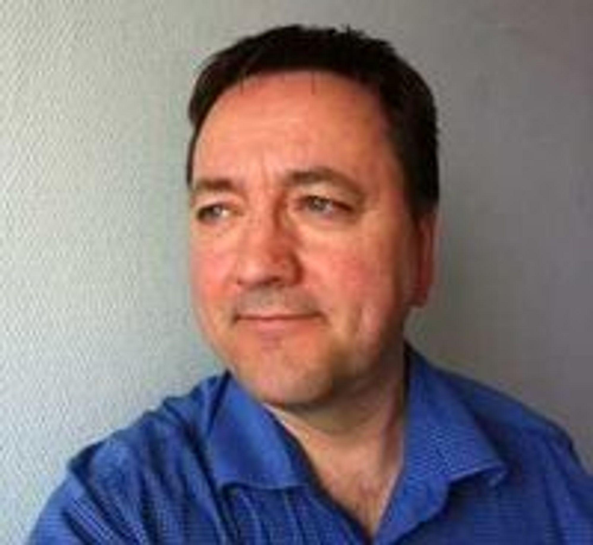 Enhetsleder for IT-drift og utvikling Per Jacobsen tar Narvik kommune ut i nettskyen.