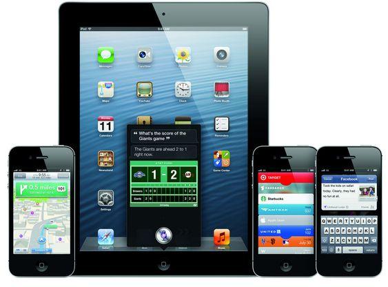 iOS 6 kommer til alle nyere utgaver av iPhone, iPad og iPod.