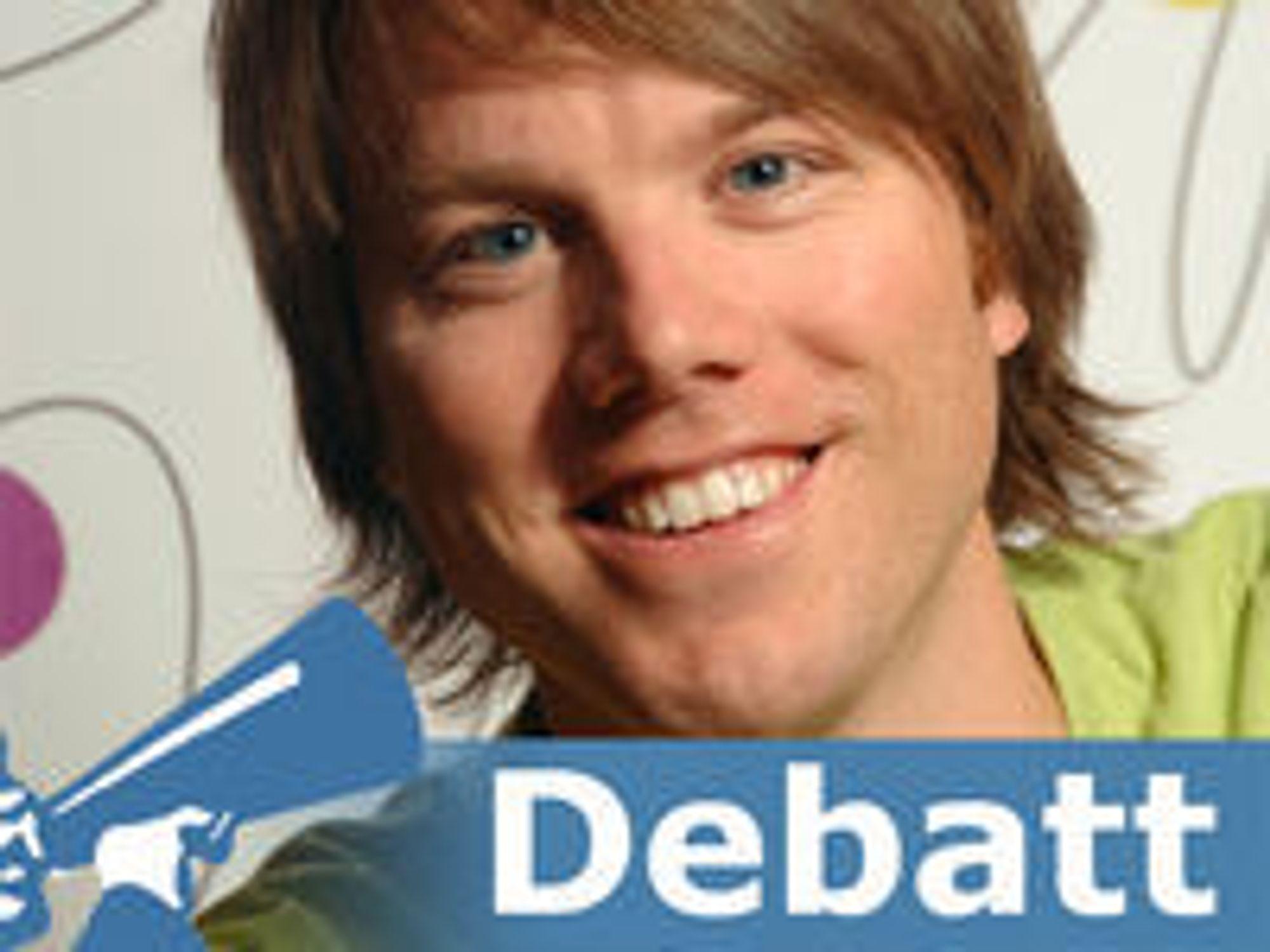 Martin Bekkelund er seniorrådgiver i Nasjonalt senter for fri programvare (friprogsenteret).
