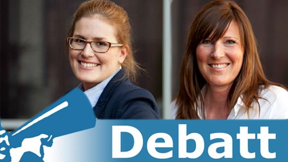 Ellen-Marie Bjerknes (t.v) og Anne Catherine Gretland er hhv. markedssjef og leder i ODA-Nettverk.