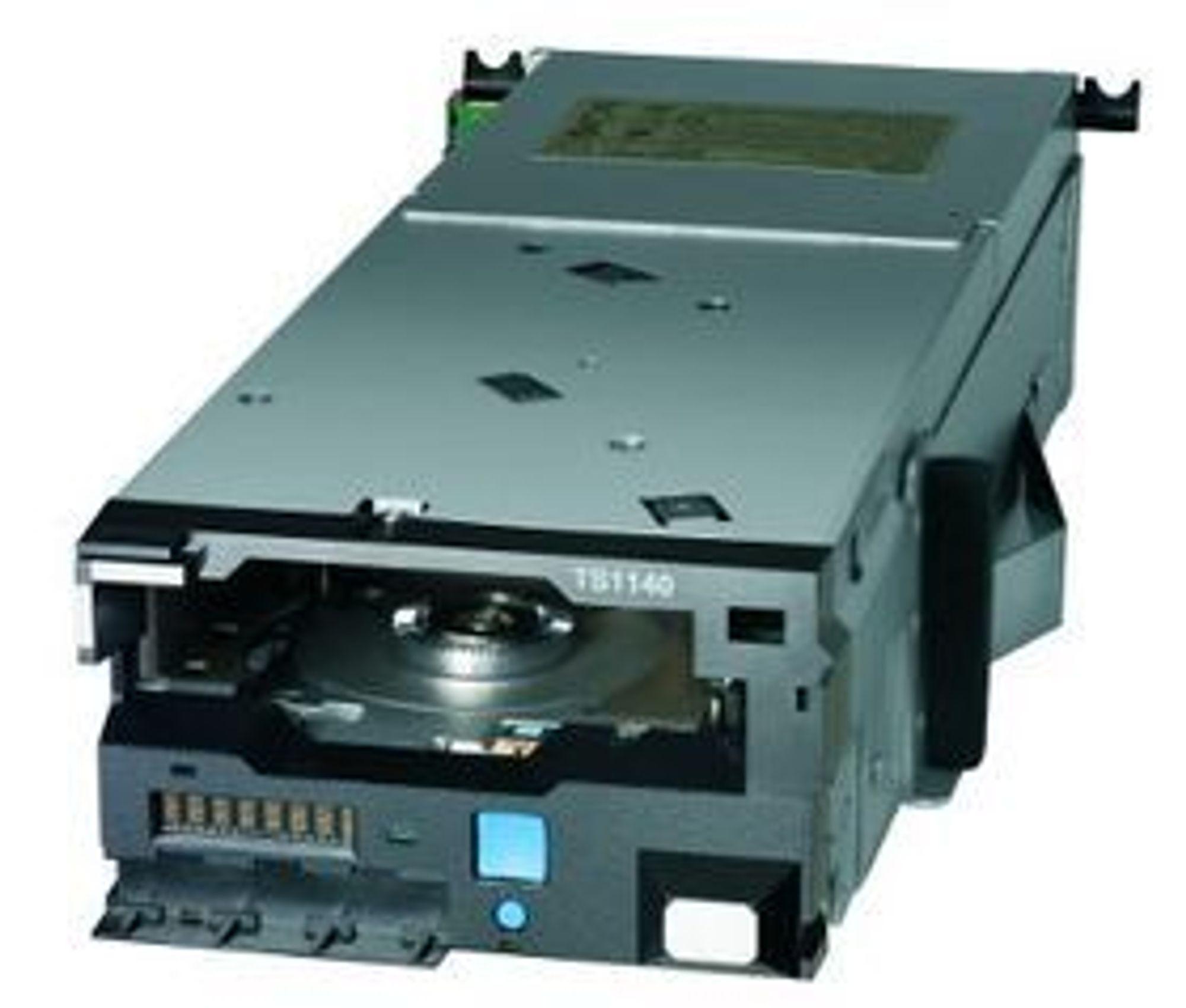 Den topp moderne magnetbåndstasjonen IBM TS1140 kom i 2011.