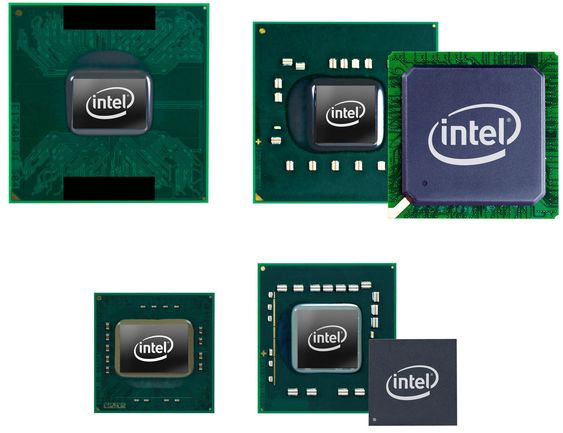 Standardutgaven av Intel Core 2 Duo prosessoren og brikkesettet Mobile Intel GM40 Express chi sammenlignet med Intels ULV-prosessor  og brikkesettet Mobile Intel GS40 Express