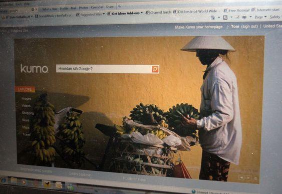 Forsiden på Microsofts nye søketjeneste er langt tynge enn mange brukere vil sette pris på.