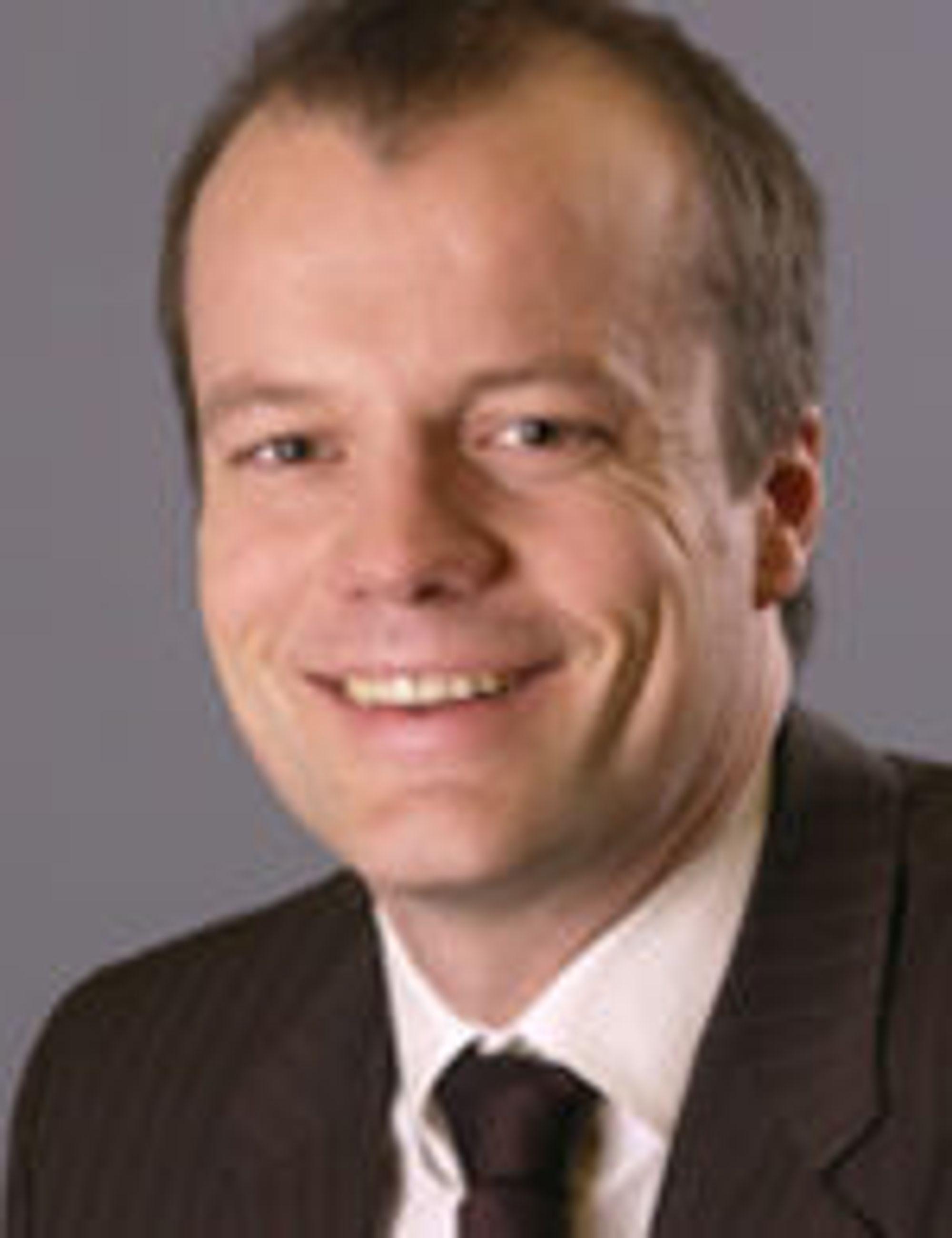 Otto Scharff i Patentstyret lover bedring av organets selvbetjeningstjenester.