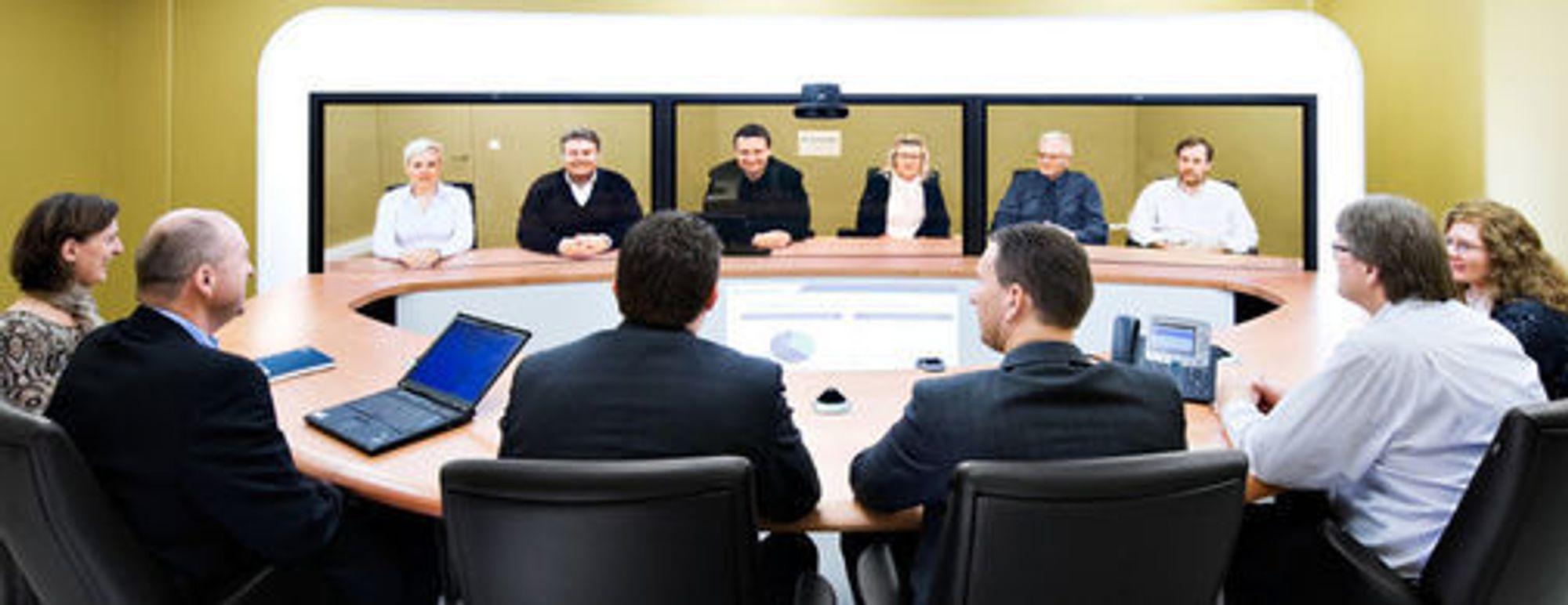 Videokonferanseløsninger som gir virkelighetsnære møteopplevelse blir av mange IT-leverandører omtalt som «telepresence». (Foto: Jon Amundsen)