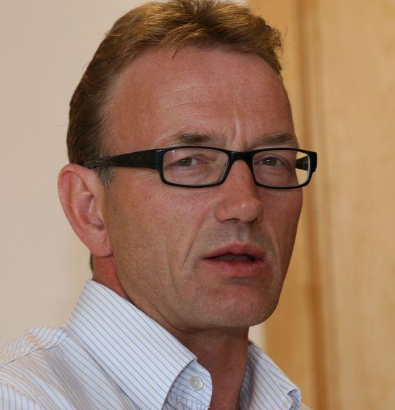 Teknisk direktør Are Føllesdal Tjønn i Norman.