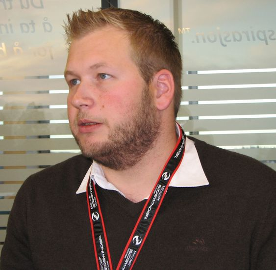 Eirik Stridsklev Nilsen i Microsoft Norge