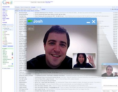 Googles Gmail video chat