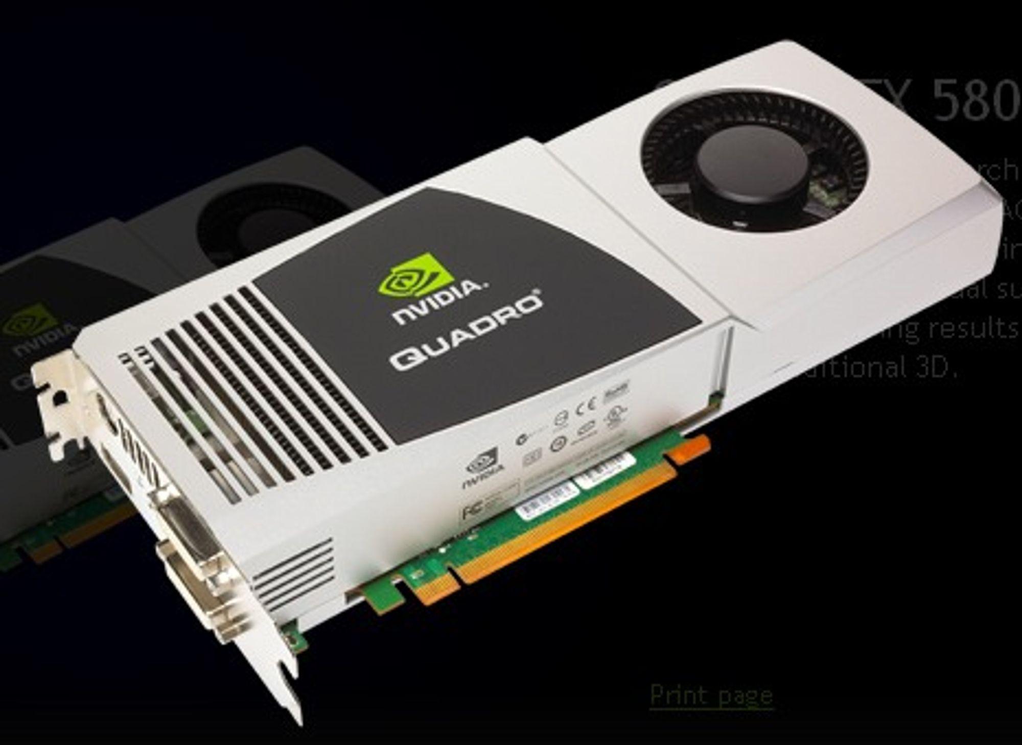 Nvidia Quadro FX 5800
