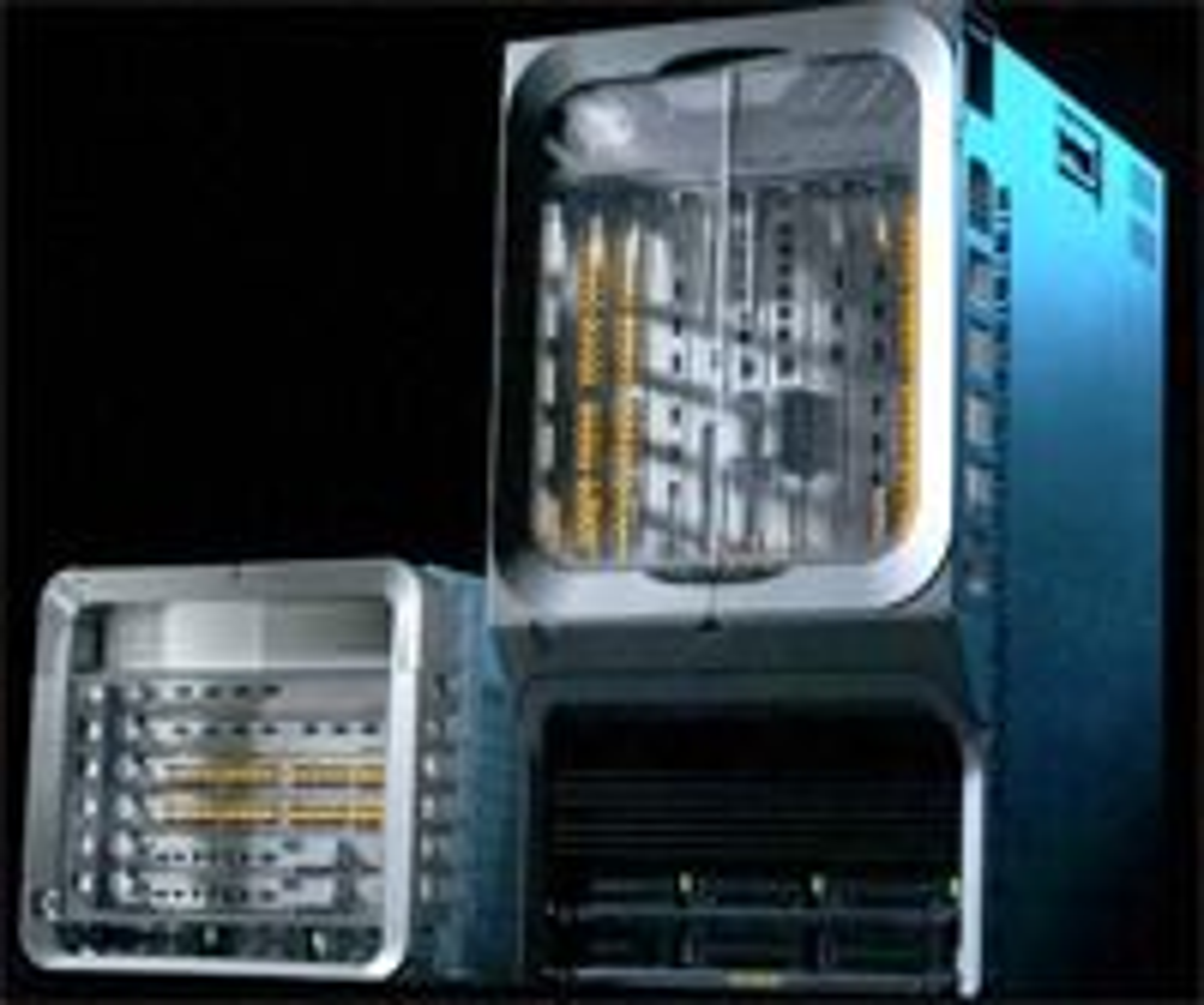 Den nye serien kommer i utgaver med seks (ASR 9006) eller ti utganger (ASR 9010). Foto: Cisco.