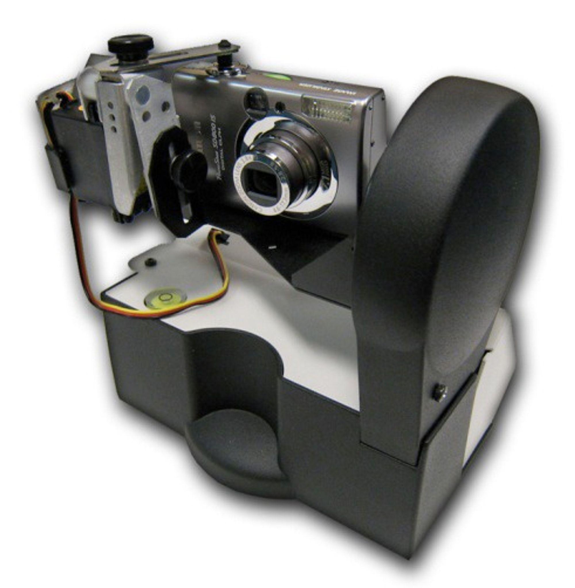 GigaPan Imager med kamera