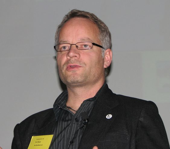 Tore Hansen i NTE Bredbånd