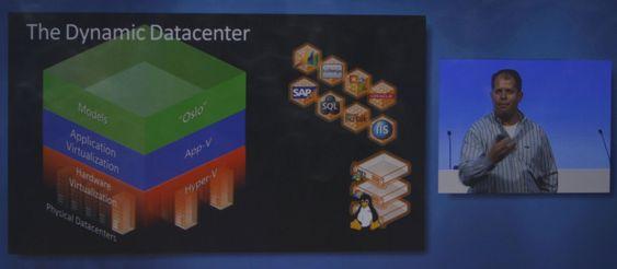 """Microsofts visjon er å bygge et dynamisk datasenter der """"Oslo"""" og virtualiseringsteknologi er nøkkelkomponentene, og der det også er rom for Linux-servere."""